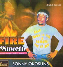 Fire In Soweto